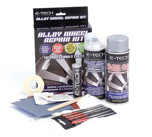 An Example of an Alloy Wheel Repair Kit