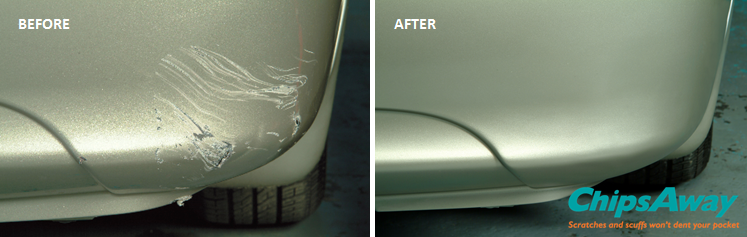 Car Scratch Repair - Before and After