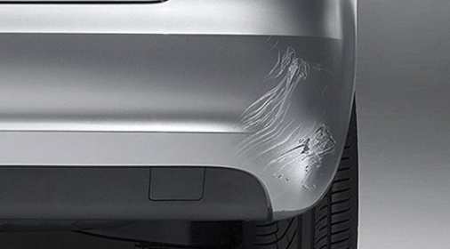 ChipsAway Bumper Repair - Before Image of Scratched Bumper