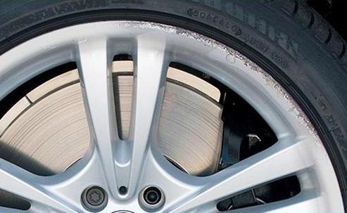 ChipsAway Alloy Wheel Refurbishment Before Photo